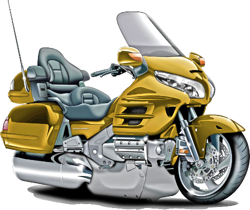 gold goldwing